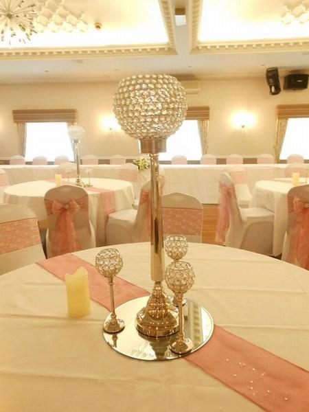 Crystal globe with mini globes