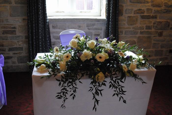 Civil flower arrangements