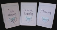 Entwined Hearts Table Name Card