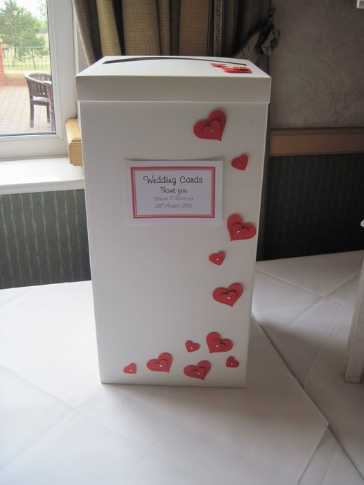 Loveheart post box