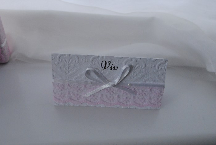 Chantilly Lace name card