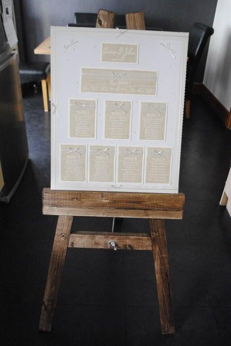Burlap & Lace canvas table plan