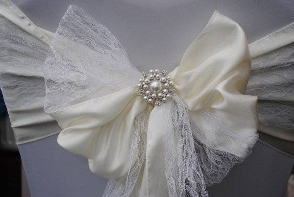 it's a pearler brooch for chair covers