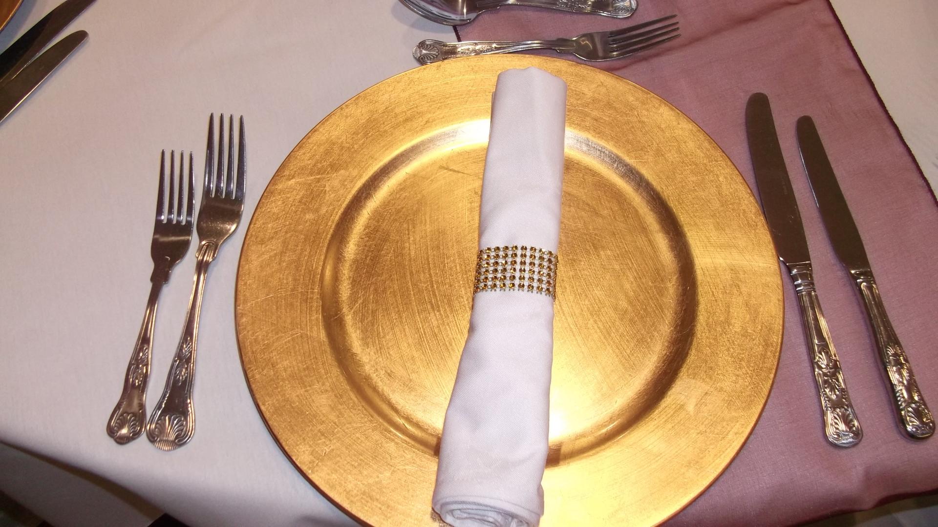 Gold Napkin rings to buy