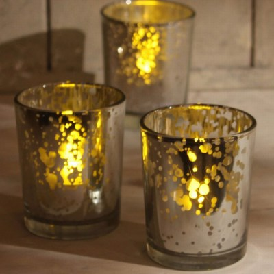Gold Mercury Tea Lights