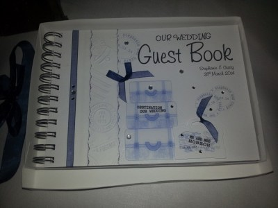 Luggage guest book