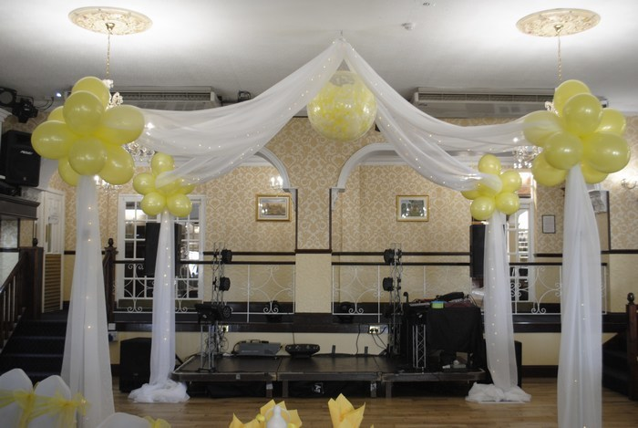 Starlit curtain hire