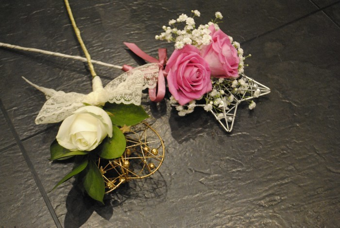Flowergirl wands