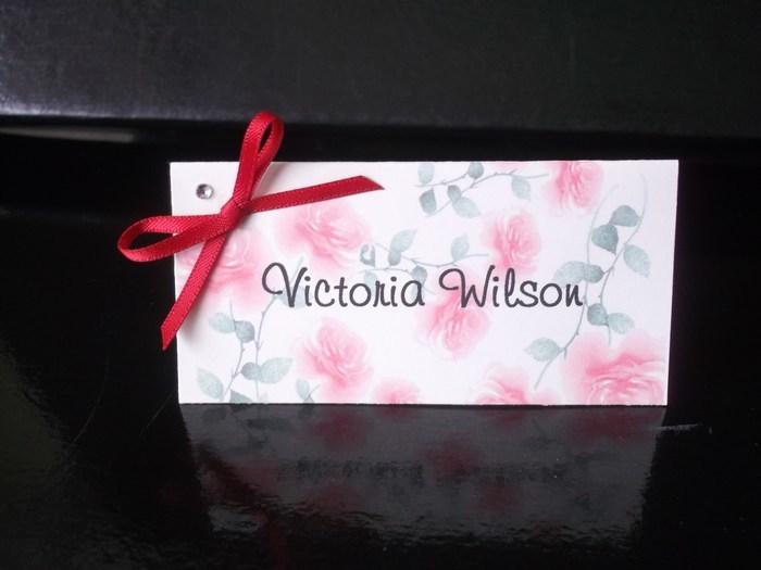 Bloom Name card