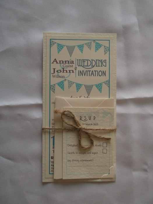 Carnival Day Wedding Invitation