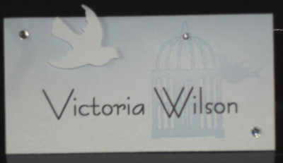 Birdcage Name Card