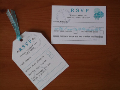 Holiday Theme RSVP's