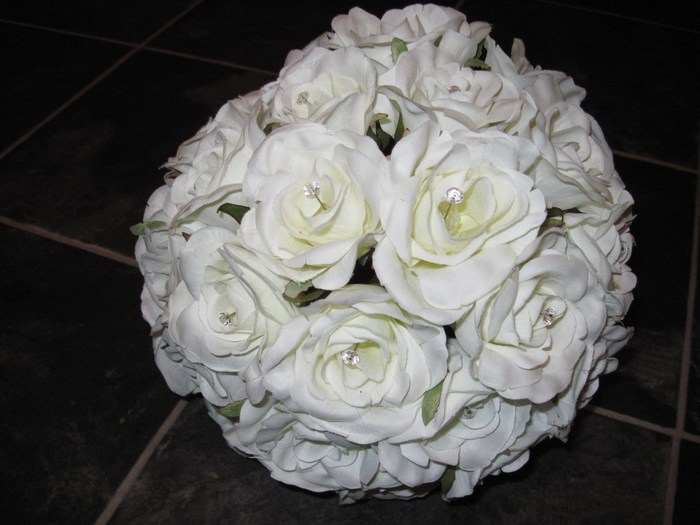 Bridal Bouquet artificial roses