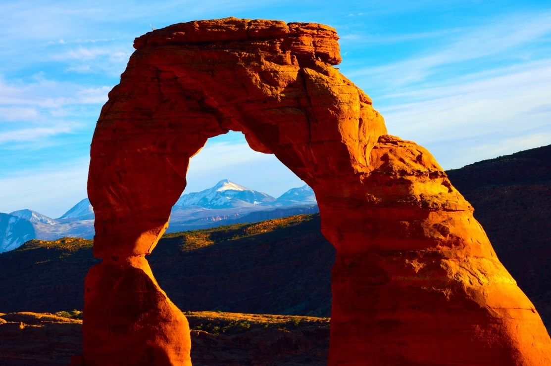 "Delicate Arch, 36"" x 24""; 42"" x 28""; 72"" x 48"" (other sizes on request), 200 editions"