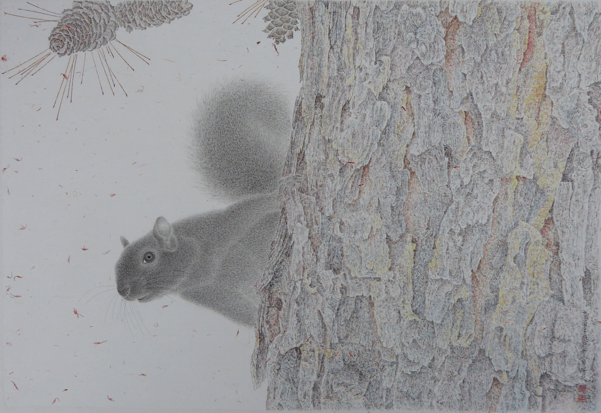 Hide and Seek - 70*47.5cm