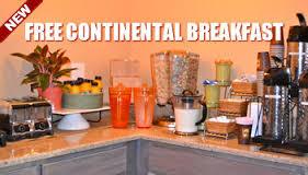 Free Continental Breakfast!!!