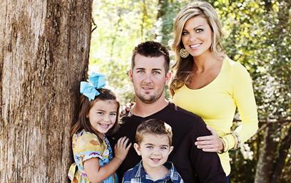 Kyle Johnson & Family