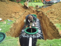 Infiltrator Tank Installation