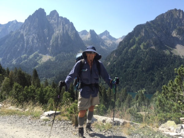 Hot news from the great Pyrenean Traverse: Kevin's doing it his way