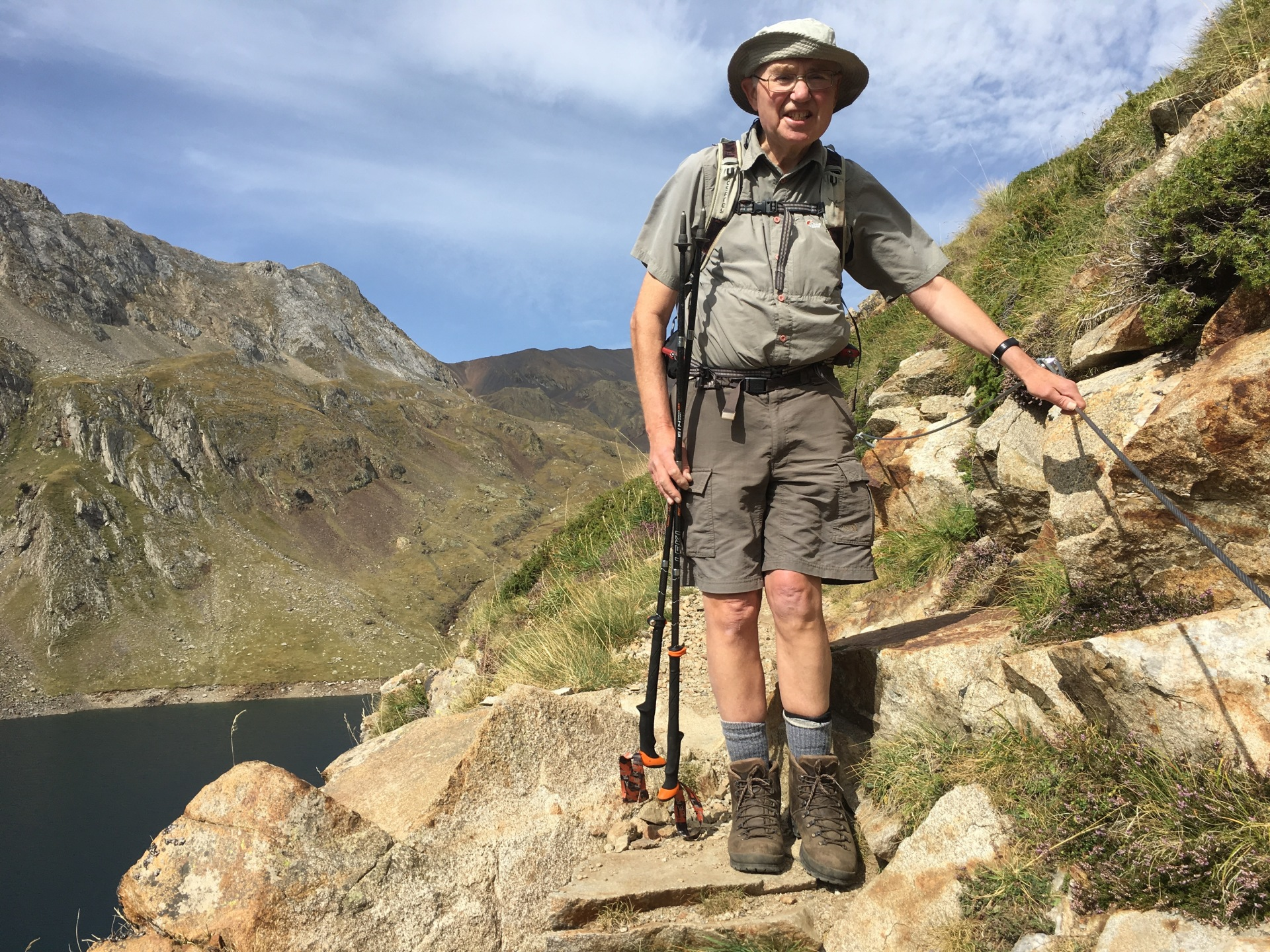 Hiking the Pyrenees with a new hip