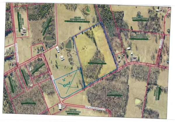 16.38 Acres of some of the most beautiful property available in Muhlenberg County.