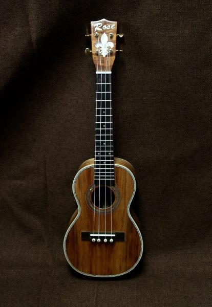 Koa concert-size ukulele