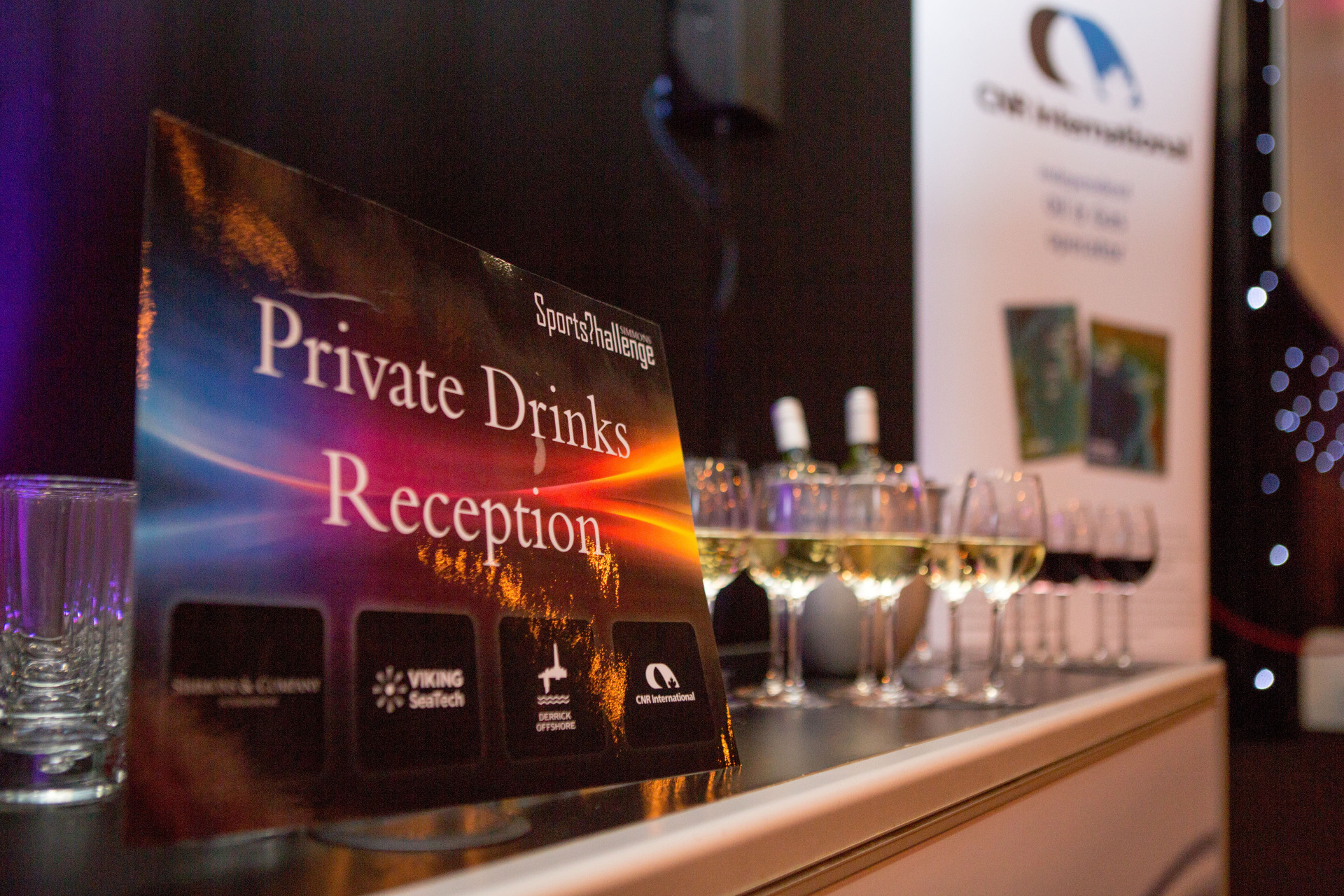 2014 - Sponsors Private Drinks Reception