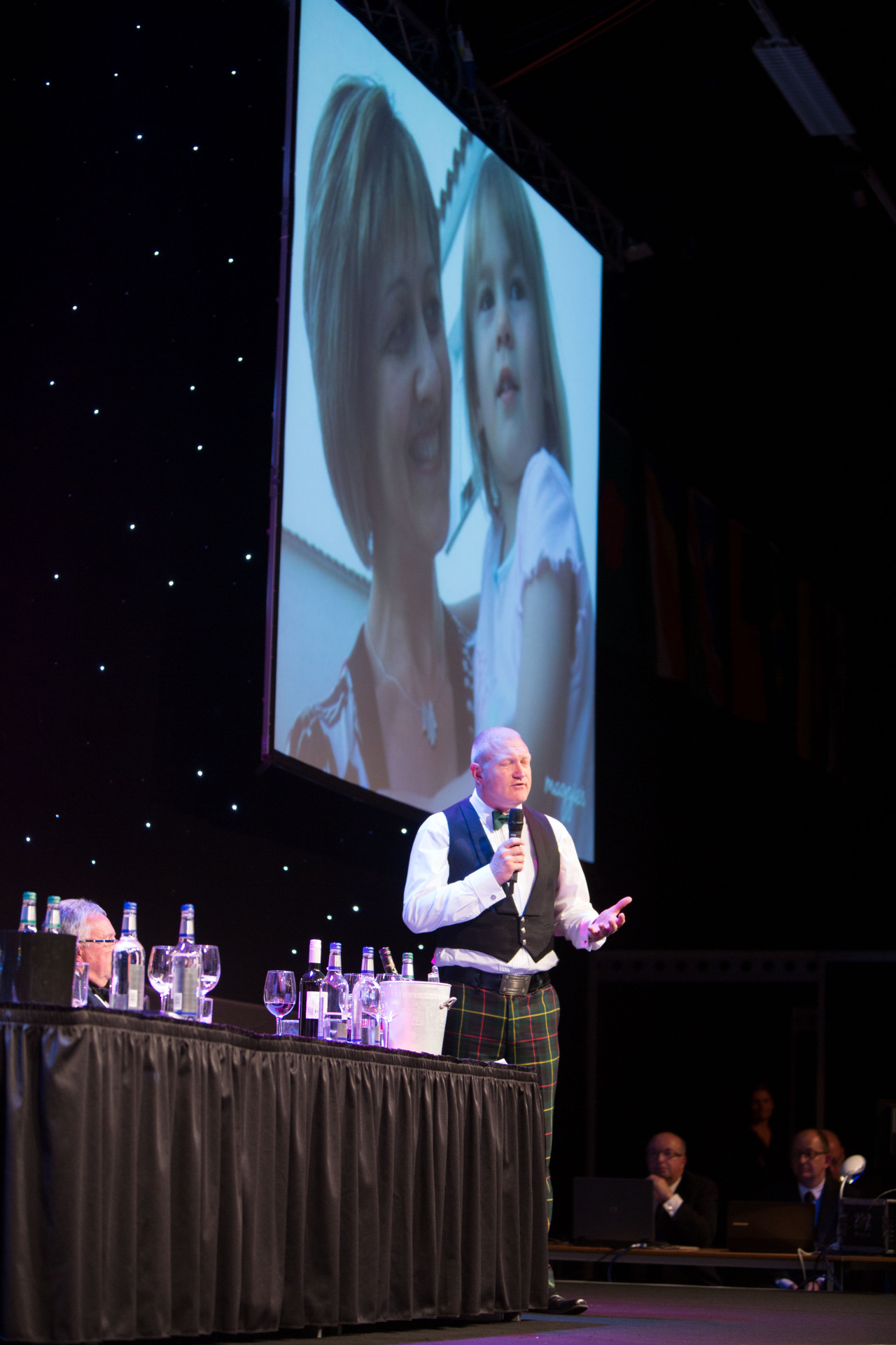 2014 - Adam Findlay presents for Maggie's