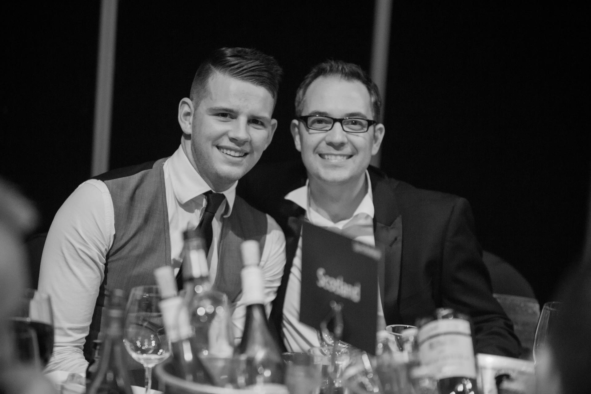 2014 - Danny Anderson & Tony Anderson, both Dana
