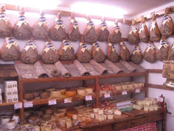 Pecorino cheeses