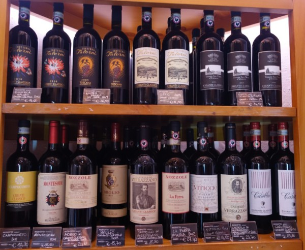 Enoteca Falorni  with over 130 Chianti wines to taste by the glass