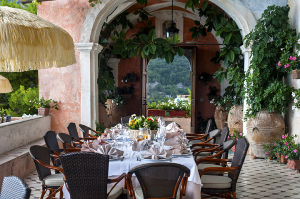 The perfect table setting is just as important as the meal itself in Italy