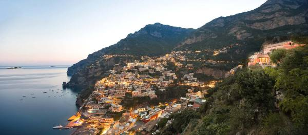 Perched on the highest point overlooking Positano