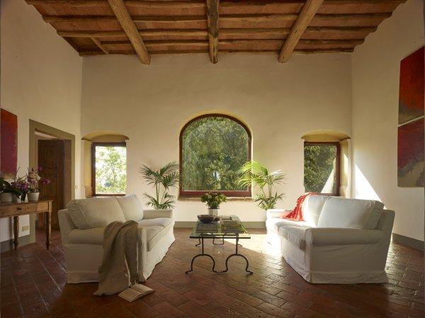 Plush sofas make for great lounging