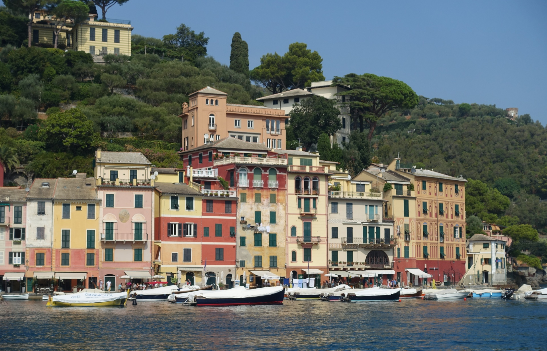 Waterfront Houses of Portofino