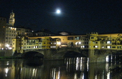 The Ponte Vecchio at Night