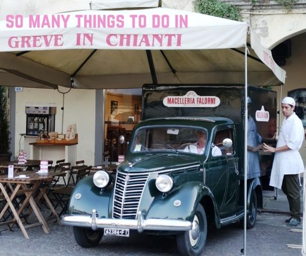 Enoteca Falorni in Greve in Chianti, Tuscany