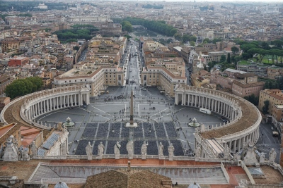 View from Vatican City