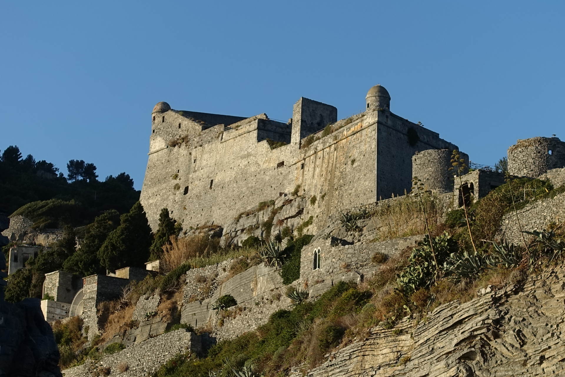 The Castle of Porto Venere
