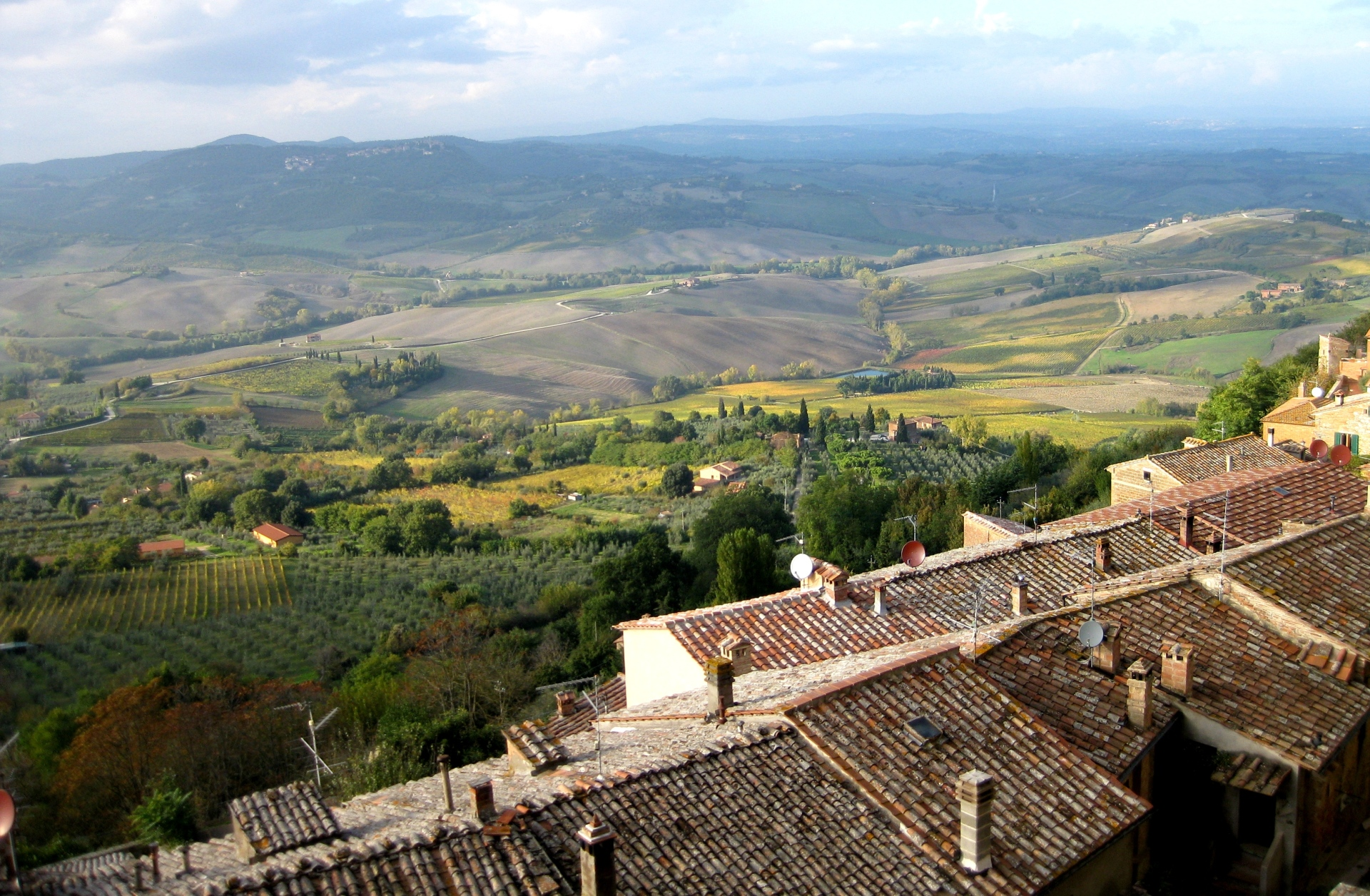 Views from Panzano in Chianti