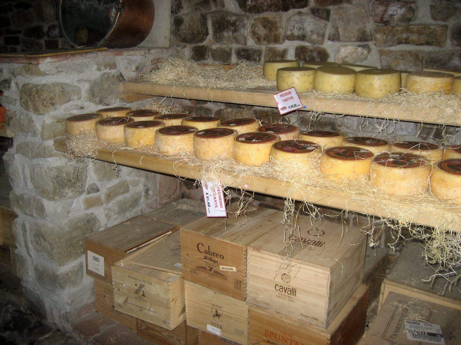 Famous Pecorino Cheeses