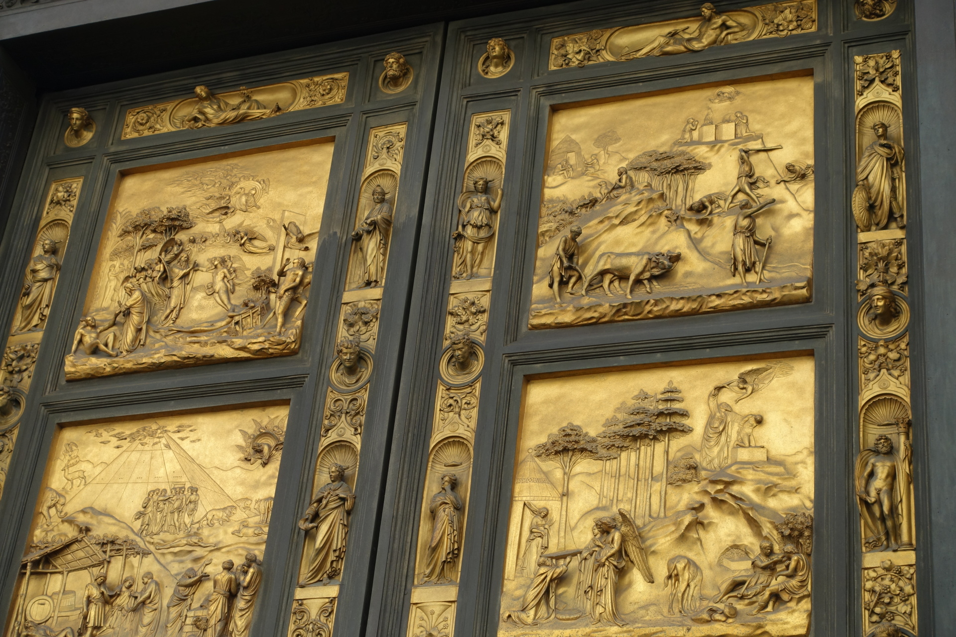 The Doors of the Baptistry