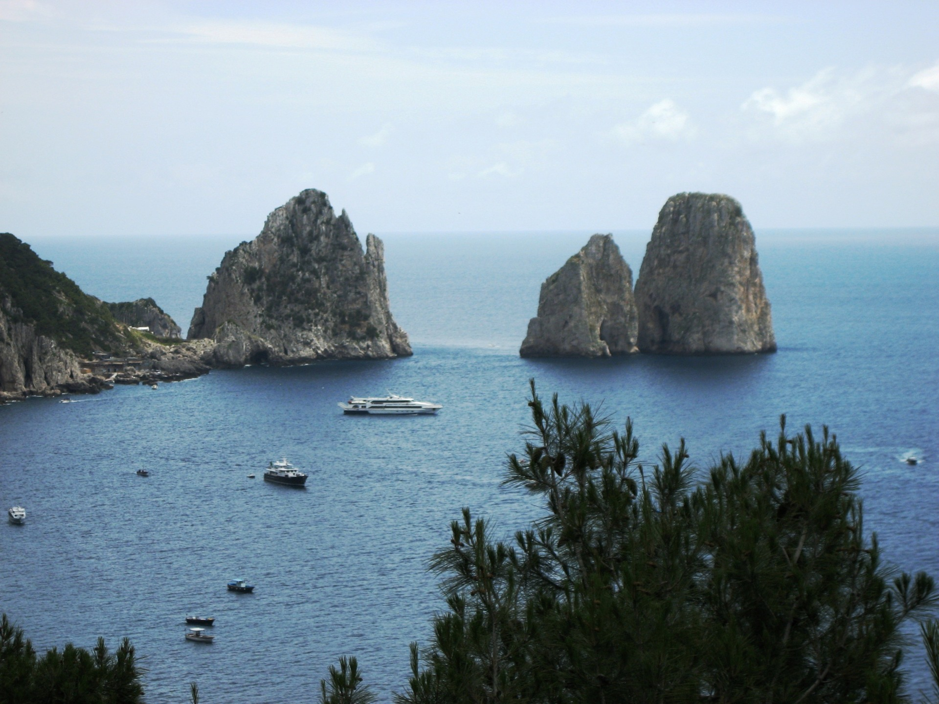 Capri's Most Iconic Faraglioni Rocks