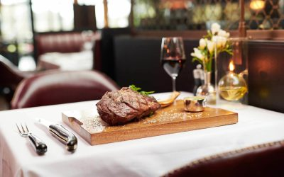 The Perfect Chop at The Carriage House