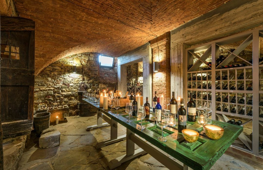 THE OWNER'S HISTORIC WINE CELLAR