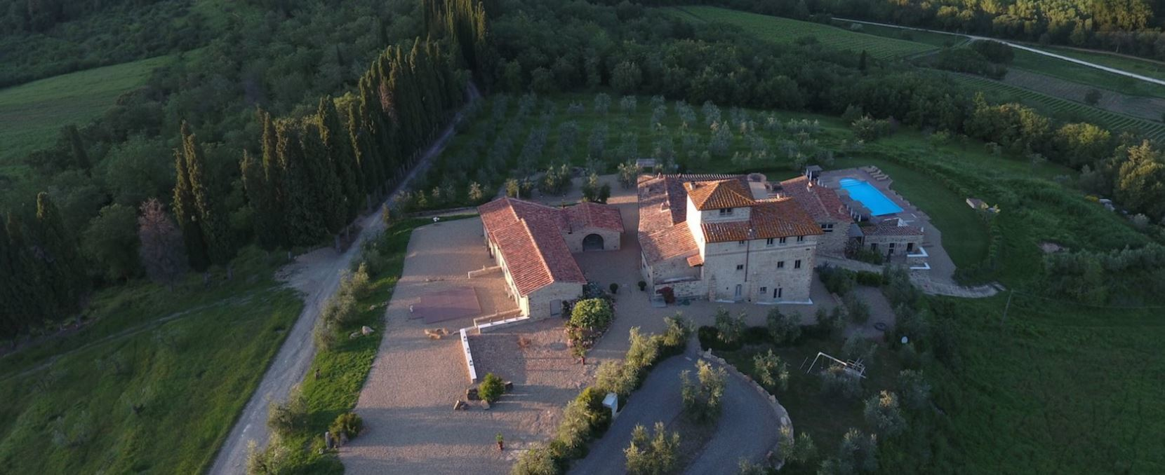 ARIAL VIEW OF THE ESTATE