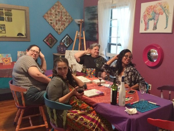 C.O.C. Evening Soirée -One of our adult bi-weekly events