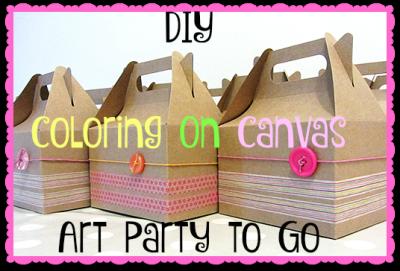 DIY C.O.C. Art Party To Go