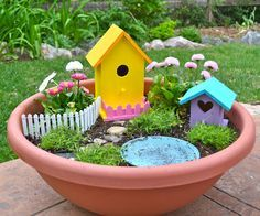 Fairy Pixie Gardens for Indoor & Outdoor Creativity