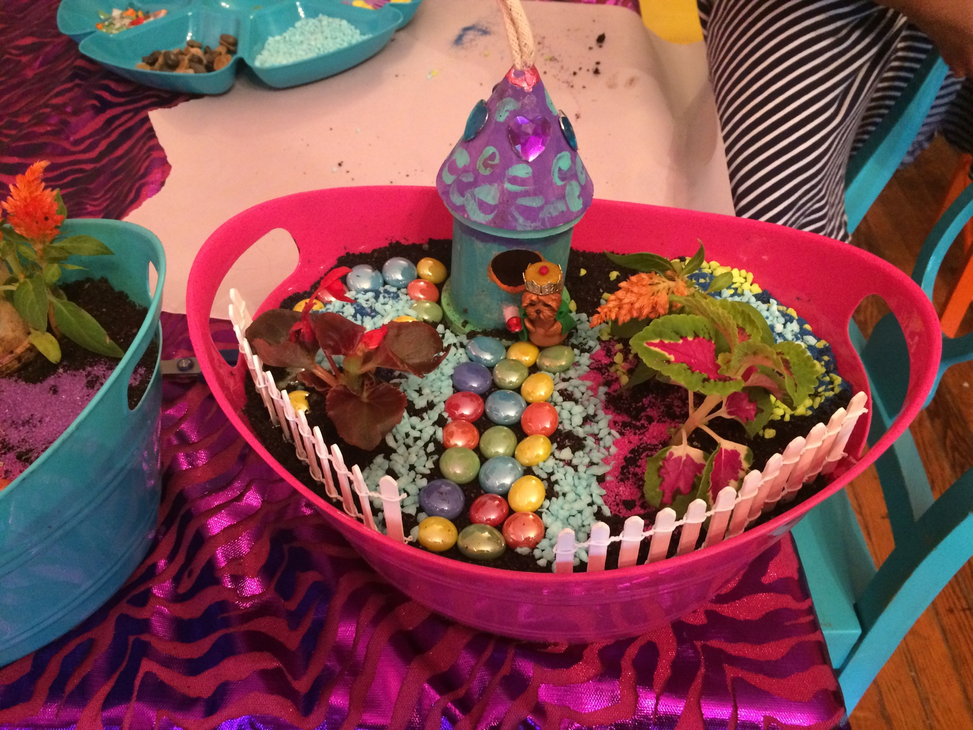 Colorful Pixie Fairy Garden Fu